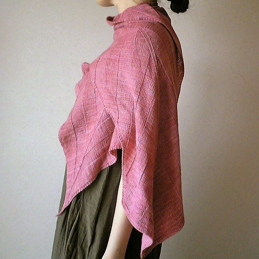 【PDF】Banana Leaf Shawl by Yuki Ueda