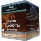 Dilmah ディルマ『イタリアン・アーモンド・ティー Italian Almond Tea』20ティーバッグ入り