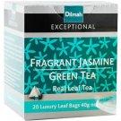 Dilmah ディルマ『フレグラント・ジャスミン・グリーンティー Fragrant Jasmine Green Tea』20ティーバッグ入り