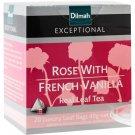 Dilmah ディルマ『ローズ・ウィズ・フレンチバニラ Rose with French Vanilla』20ティーバッグ入り