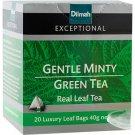 Dilmah ディルマ『ジェンテル・ミンティ・グリーンティー Gentle Minty Green Tea』20ティーバッグ入り