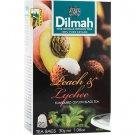 Dilmah ディルマ『ピーチ&ライチ・フレーバーティー Peach and Lychee flavoured tea』20ティーバッグ入り