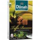 Dilmah ディルマ『トフィ・バナナ・フレーバーティー Toffee Banana flavoured tea』20バッグ入り