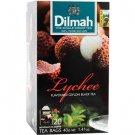 Dilmah ディルマ『ライチ・フレーバーティー Lychee flavoured tea』20ティーバッグ入り