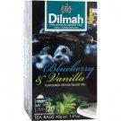 Dilmah ディルマ『ブルーベリー&バニラ・ティー Blueberry and Vanilla flavoured tea』20バッグ入り