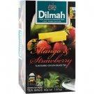 Dilmah ディルマ『マンゴー&ストロベリー・フレーバーティー Mango and Strawberry flavoured tea』20バッグ入り