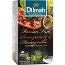 Dilmah ディルマ『パッションフルーツ&ザクロ・スイカズラ Passion Fruit, Pomegranate and Honeysuckle flavoured Tea』20バッグ入り