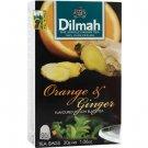 Dilmah ディルマ『オレンジ&ジンジャー・フレーバーティー Orange and Ginger flavoured tea』20バッグ入り
