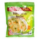 CBL インスタント・スープ 『ベジタブル・ヌードルスープ Vegetable with Noodles』 6カップ分