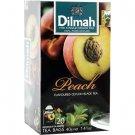 Dilmah ディルマ『ピーチ・フレーバーティー Peach flavoured tea』20バッグ入り