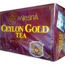 Mlesna 『セイロン・ゴールド/Ceylon Gold Tea (ミルクティー&ストレート兼用)』100ティーバッグ入り