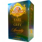 BASILUR TEA バシラーティー 『Earl Grey / アールグレイ』 20ティーバッグ