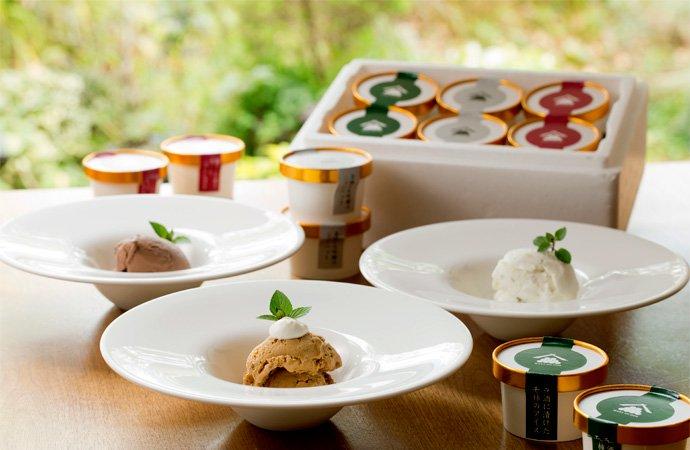 贅沢な大人のアイス 3種の味が楽しめるバラエティセット