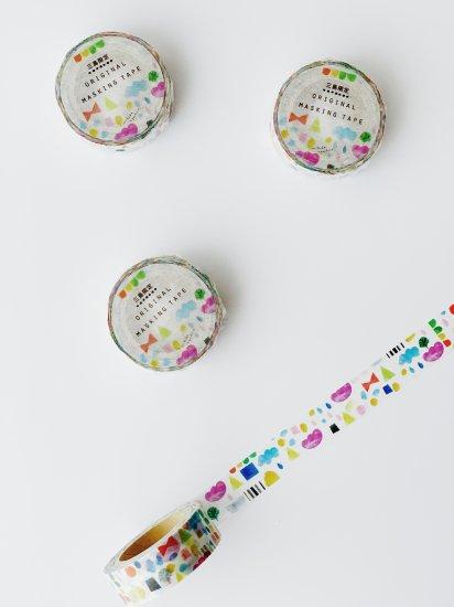 マスキングテープ「Colorful」(作:絵本作家 えがしらみちこ)