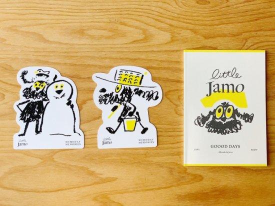 【ZINE(初版)】Little Jamo +ポストカード2枚セット   作:かげやましゅん(JAROS)
