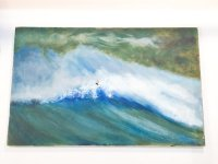 Unknown surfing painting