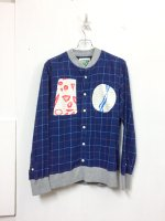 yes!yes!非非 pullover shirt /blue plaid
