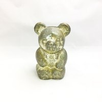 Bear metallic piggy bank