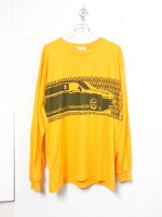 SPUT performance LINCOLN L/S T-shirt /yellow