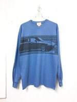SPUT performance LINCOLN L/S T-shirt /indigo blue