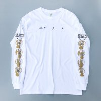 AIRR - HOW TO USE CHOPSTICKS L/S T-shirt / White
