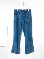 70's Wrangler ''PERMANENT PRESS'' houndstooth check pants