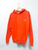 中川刺繍店 ''Orange 100%'' hoodie