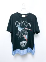 yes!yes!非非 ''OHASHI 2018'' T-shirt /black