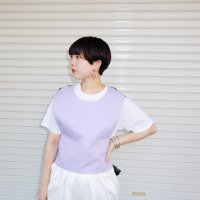 QFD mesh vest /lilac<img class='new_mark_img2' src='//img.shop-pro.jp/img/new/icons9.gif' style='border:none;display:inline;margin:0px;padding:0px;width:auto;' />