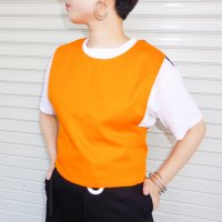 QFD mesh vest /apricot<img class='new_mark_img2' src='//img.shop-pro.jp/img/new/icons9.gif' style='border:none;display:inline;margin:0px;padding:0px;width:auto;' />