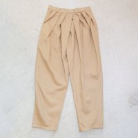 QFD 2019ss Cotton pants / beige<img class='new_mark_img2' src='//img.shop-pro.jp/img/new/icons10.gif' style='border:none;display:inline;margin:0px;padding:0px;width:auto;' />