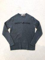 DKNY JEANS cotton knit / grey