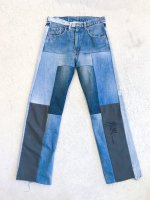 POTTO - Switching remake denim pants