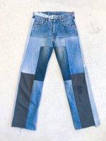 POTTO - Switching remake denim pants