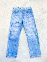POTTO - Hand paint denim pants