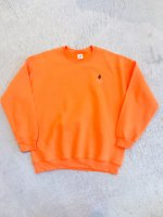 airr - PORO PORO CLUB sweat shirt / safety orange