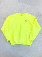 airr - PORO PORO CLUB sweat shirt / safety green