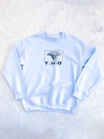 airr - T.H.O sweat shirt / light blue