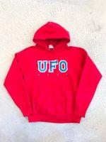 SPUT performance - UFO SHOP hoodie / red