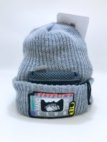 airr - HAND SMELL CLUB knit cap / grey
