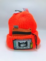 airr - HAND SMELL CLUB knit cap / orange
