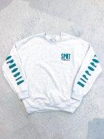 SPUT performance - HIPPOPOTOMONSTROSESQUIPEDALIOPHOBIA Sweatshirt / ash grey