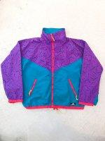 1980s SIERRA DESIGNS special windbreaker / purple×green