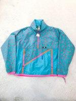 1980s SIERRA DESIGNS special windbreaker / mint×orange