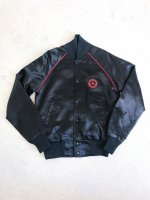 1980s MERCEDES BENZ satin jkt