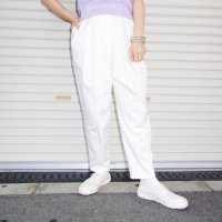 QFD 2019ss Cotton pants / white<img class='new_mark_img2' src='//img.shop-pro.jp/img/new/icons10.gif' style='border:none;display:inline;margin:0px;padding:0px;width:auto;' />
