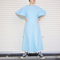 QFD 2019ss Cotton one piece / light blue<img class='new_mark_img2' src='//img.shop-pro.jp/img/new/icons10.gif' style='border:none;display:inline;margin:0px;padding:0px;width:auto;' />