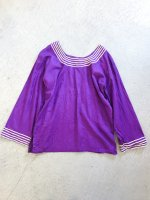 Pattern tunic / purple<img class='new_mark_img2' src='//img.shop-pro.jp/img/new/icons10.gif' style='border:none;display:inline;margin:0px;padding:0px;width:auto;' />