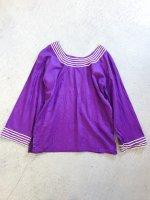 Pattern tunic / purple