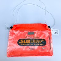AIRR - SUPER PLASTIC BAG / fluorescent orange